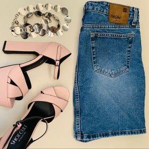 NASTY GAL Shoe Cult Baby Pink Stilettos